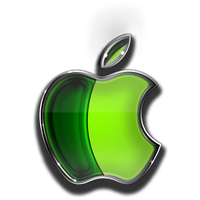 Meo apple pomme render by cooliographistyle