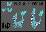 Varan/Pucha Reference Sheet by Torotix