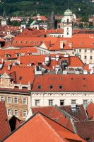 Prague rooftops 2 by Ziw