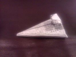 Decaled Star Destroyer by taerkitty