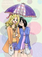 Umbrella Aline and Helen by AlexSakura