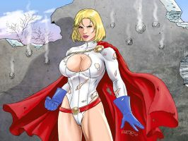 Power Girl by fernandomerlo