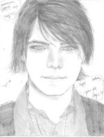 Gerard Way by Cayys