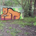 Number Zwei - Bear in the woods  by SUREGRAFFITI