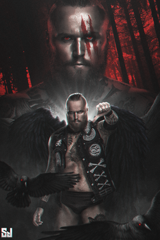 Aleister Black Wallpaper by Sjstyles316
