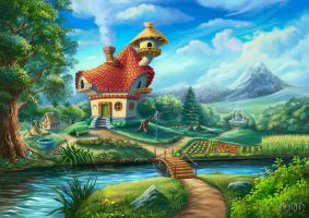 The owl house by Araniart