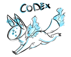 Codex Sketch by TheseWeirdFishes
