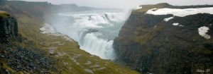 Gullfoss Waterfall by WorldsInWorld