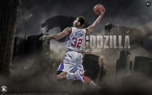 Blake Griffin Godzilla wallpaper by Kevin-tmac