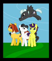 Background Stallions by ApAtHeTIcBuNnY