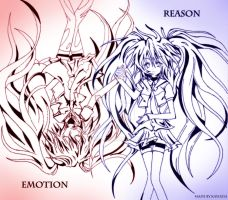 Emotion and Reason by Kayozia