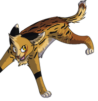 Ma serval 8D by NekoOow