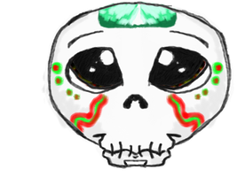 little Sugar Skull by who-said-that