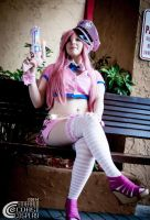 Super Sonico Space Police by Rocker-Death-Fairy