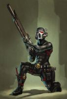 Vindicare assassin by warhammer40kcampaign