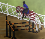 GCC D+ P+ Show Jumping by MidnightAyaChan