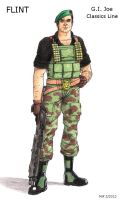 FLINT GI Joe Classics Line 1 by MJFCreations