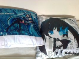 Miku X BRS pillows by MrL3821