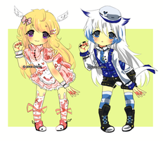 Custom adoptables {1} by Ayuki-Shura-Nyan