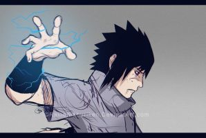 Sasuke by Ramen-shuriken