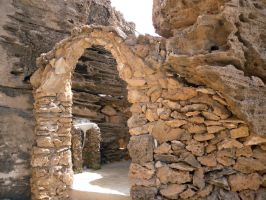 Stone Archway Stock 2 by Meta-Stock