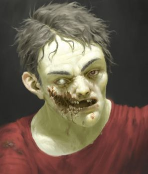 Frank The Zombie by dante-cg