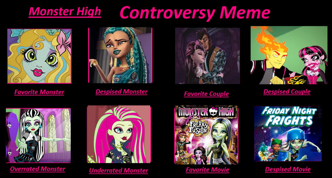 My Monster High Controversy meme by Jioseph-superfan63