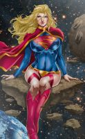 Supergirl by Marcio Abreu by tony058