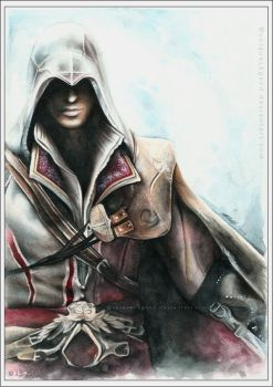 Ezio - Assassin's Creed by EternaLegend
