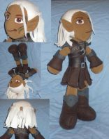 Zevran Plushie--Dragon Age by Threnodi