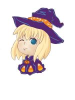 Halloween chibi for a friend by rainhikari