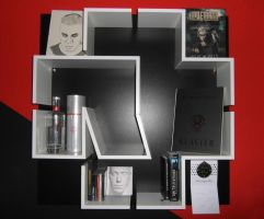 Rammstein Shelf by yotamono-chan