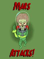 Mars Attacks by LooneyLion