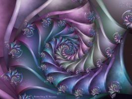 Spring Trapestry by FireLilyFractals