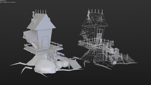 Witch hut by betasector