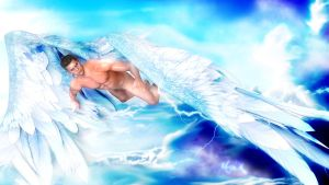 Angel Piers flying by Mo0nX