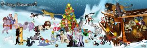 Christmas Collab 2012 by mejony