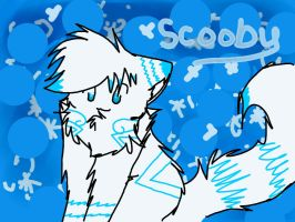 art trade with scooby by fionafirefox