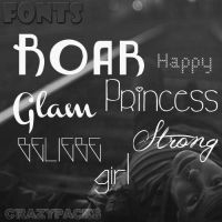 |FONTS PACK| by CrazyPacks