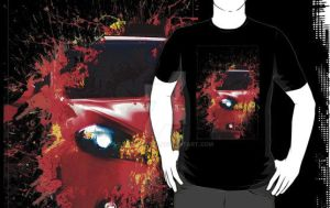 Dodge Dart T-shirt by Subspeed79