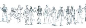 TEKKEN Men's Fashion Show Pt 1 by aellise