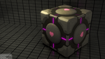 Companion Cube by Bromberry