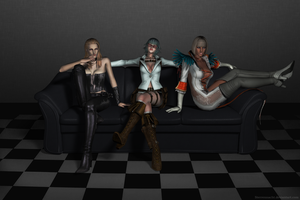 The Girls of DMC4 by Sterrennacht