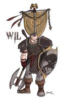 Dungeons And Dragons Character - Will by thecommonwombat
