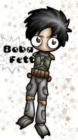 Boba Chibified by greenlikethesky