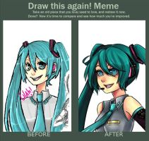 draw this again meme by lilacalosa