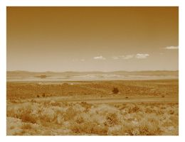 Mono Lake in Sepia by Bladewing-Flash