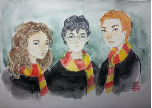 Harry Potter by Pistachette