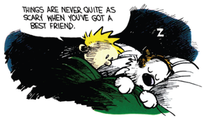 ~Calvin and Hobbes~ by MHalse