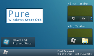 Pure Windows Start Orb Final by PrinceNuisance